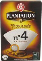 Filtres café n°4 x80 et détartrant - Product - fr