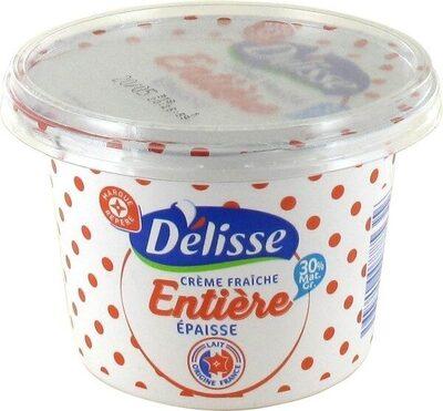 Crème fraîche épaisse 30%MG - Product - fr
