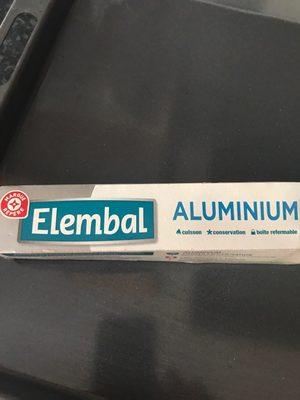 papier aluminium - Product - fr