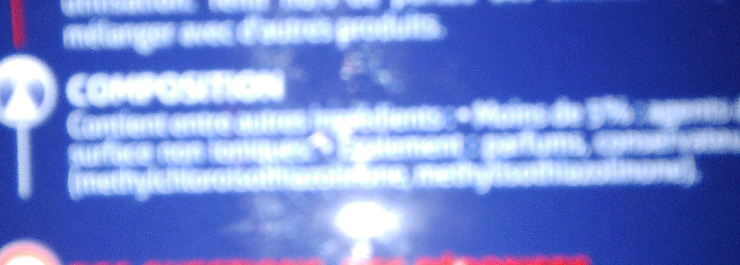 activ effect - Ingredients - fr