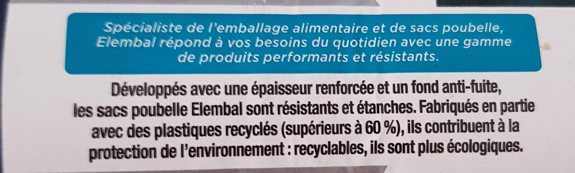 Sacs poubelles 50L - Product - fr
