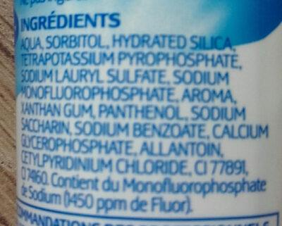 Dentamyl expert  blancheur - Ingredients