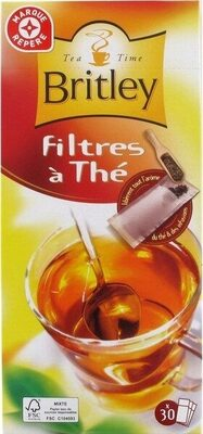 Filtres à thé x 30 - Product - fr