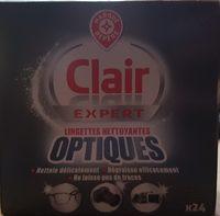 Lingettes nettoyantes optiques - Product