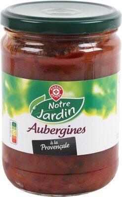 Aubergines provençale bocal - Product - fr