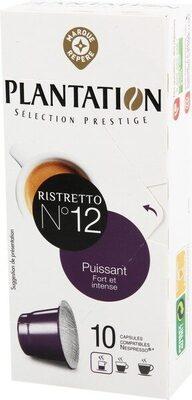 Capsules de café Ristretto x 10 - Product - fr