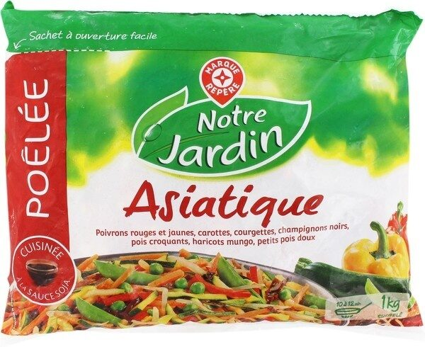 Poêlée asiatique de légumes - Product - fr
