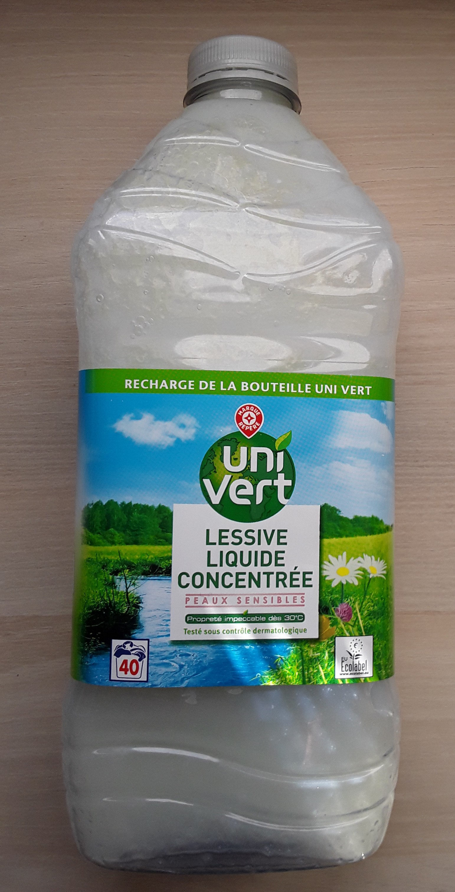 Lessive liquide - Produit