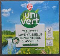 Tablettes lave-vaisselle concentrées classiques - Produit - fr