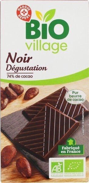 Chocolat noir 74% cacao - Produit - fr