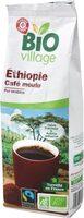 Café moulu d'Ethiopie bio pur Arabica Max Havelaar - Product - fr