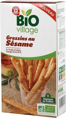 gressins au sésame - Product - fr