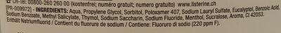 Mundspühlung - Ingredients