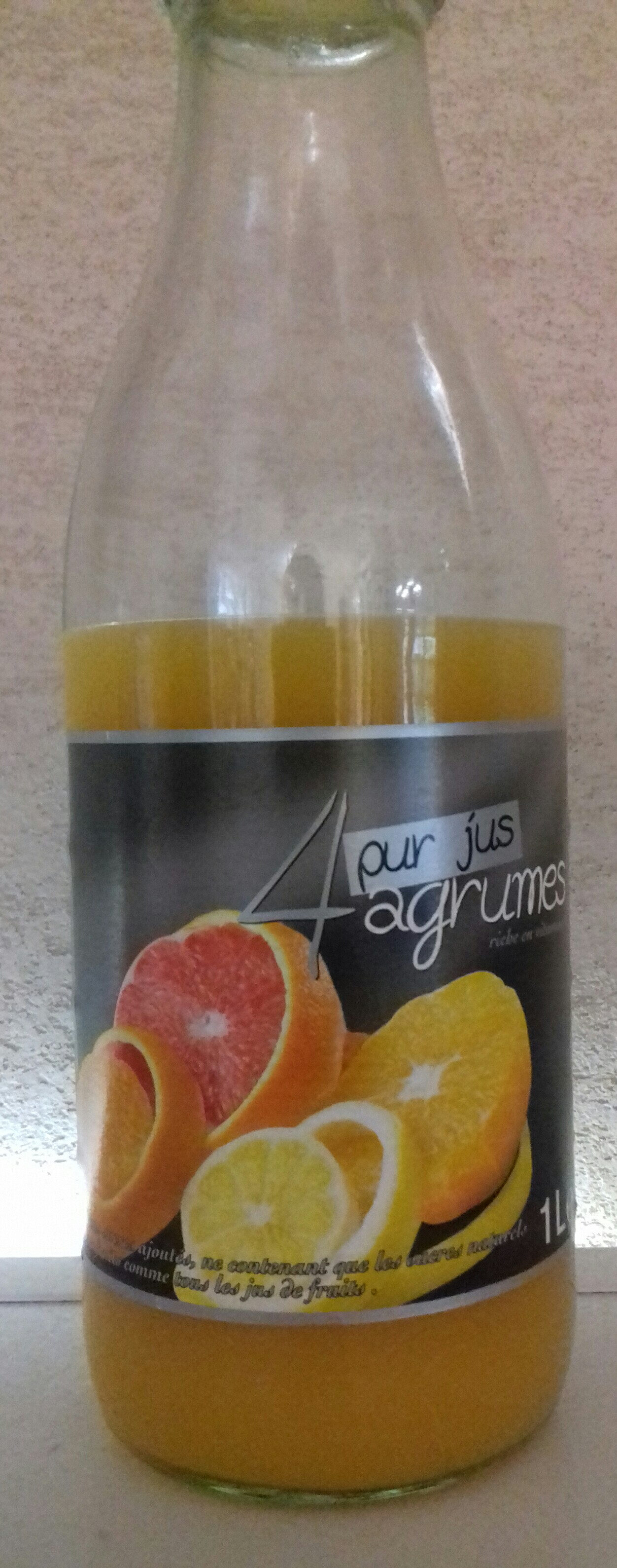 4 agrumes pur jus - Product - fr
