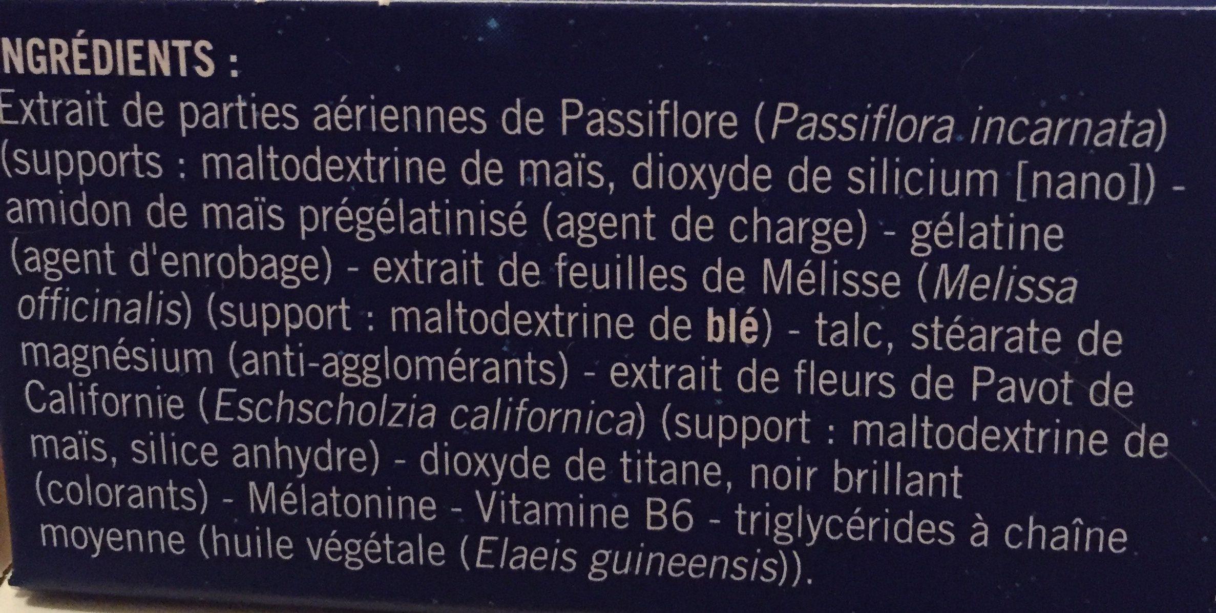 Sanofi Aventis Novanuit Triple Action 30 Gélules - Ingredients