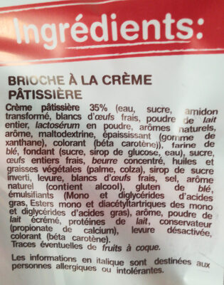Le Chinois - Ingredients - fr