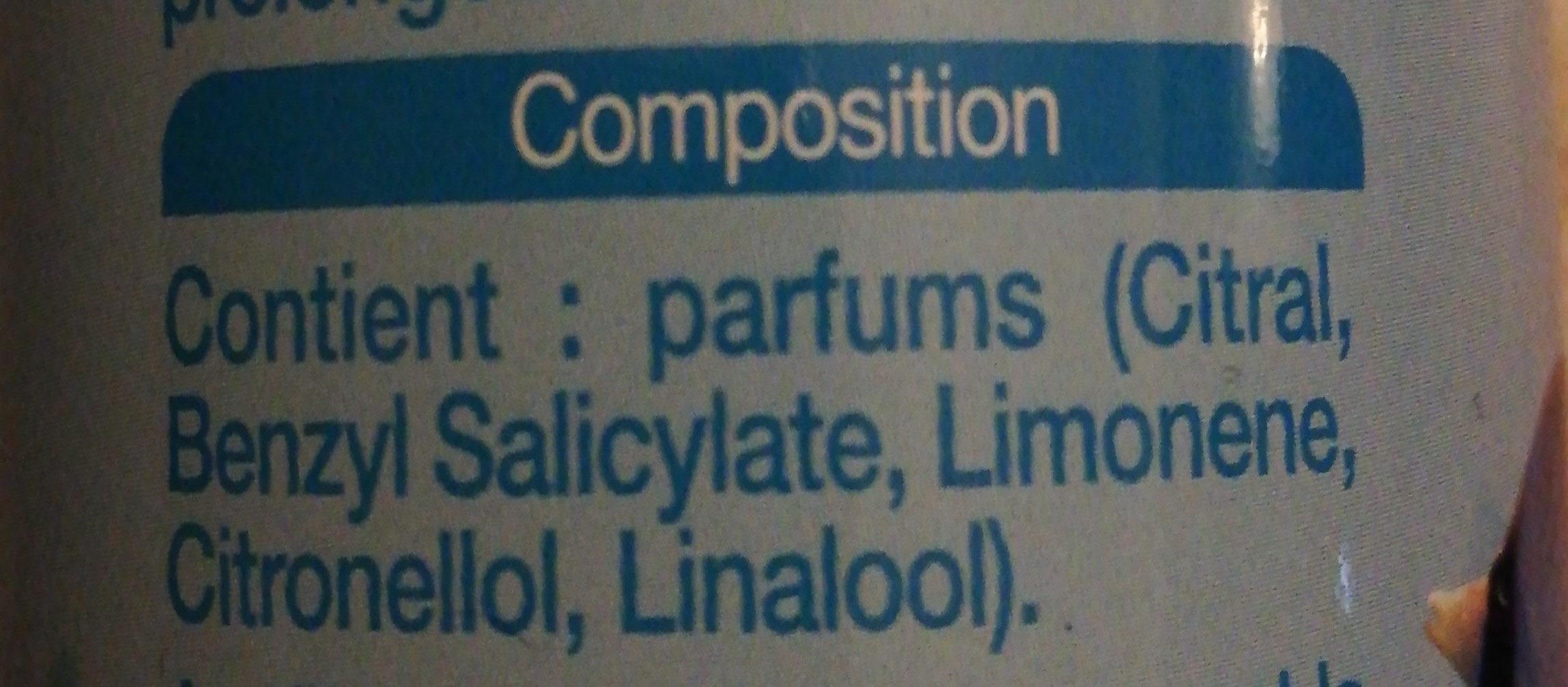 essentiel aérosol fraîcheur pacifique - Ingredients