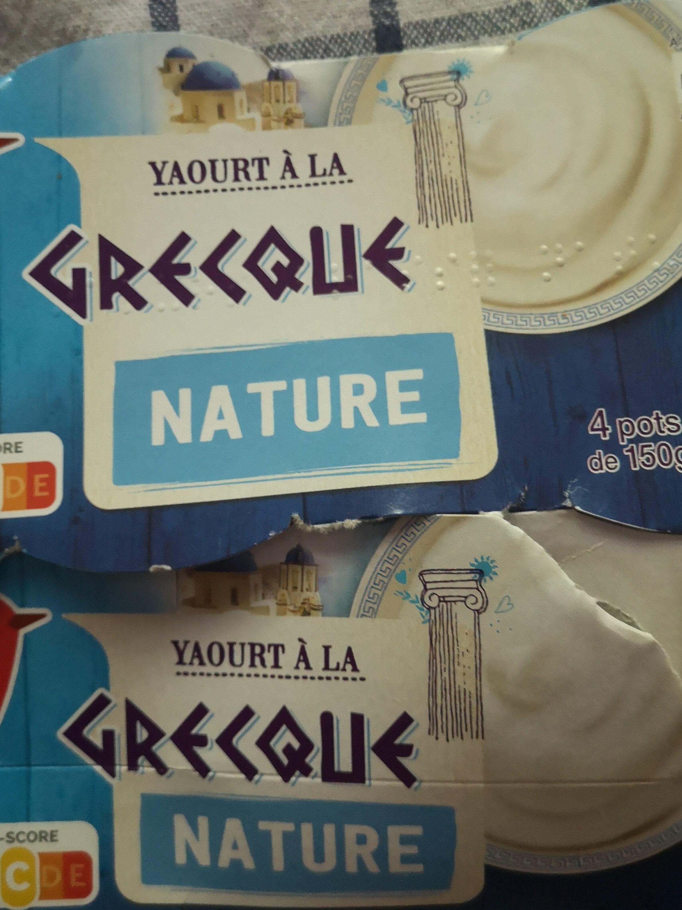 yaourt a la grecque - Product - fr