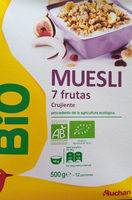 muesli 7 fruits - Product
