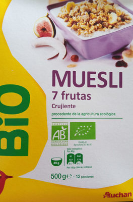 muesli 7 fruits - Produit