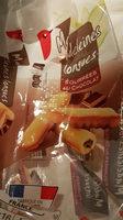 madeleines longues fourrées au chocolat - Produit
