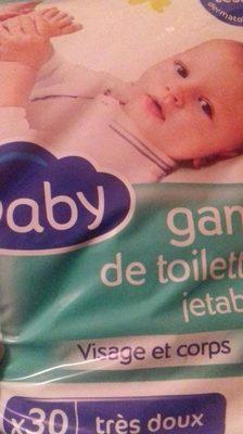 Gant de toilette jetable - Produit