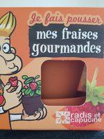 je fais pousser mes fraises gourmandes - Produit