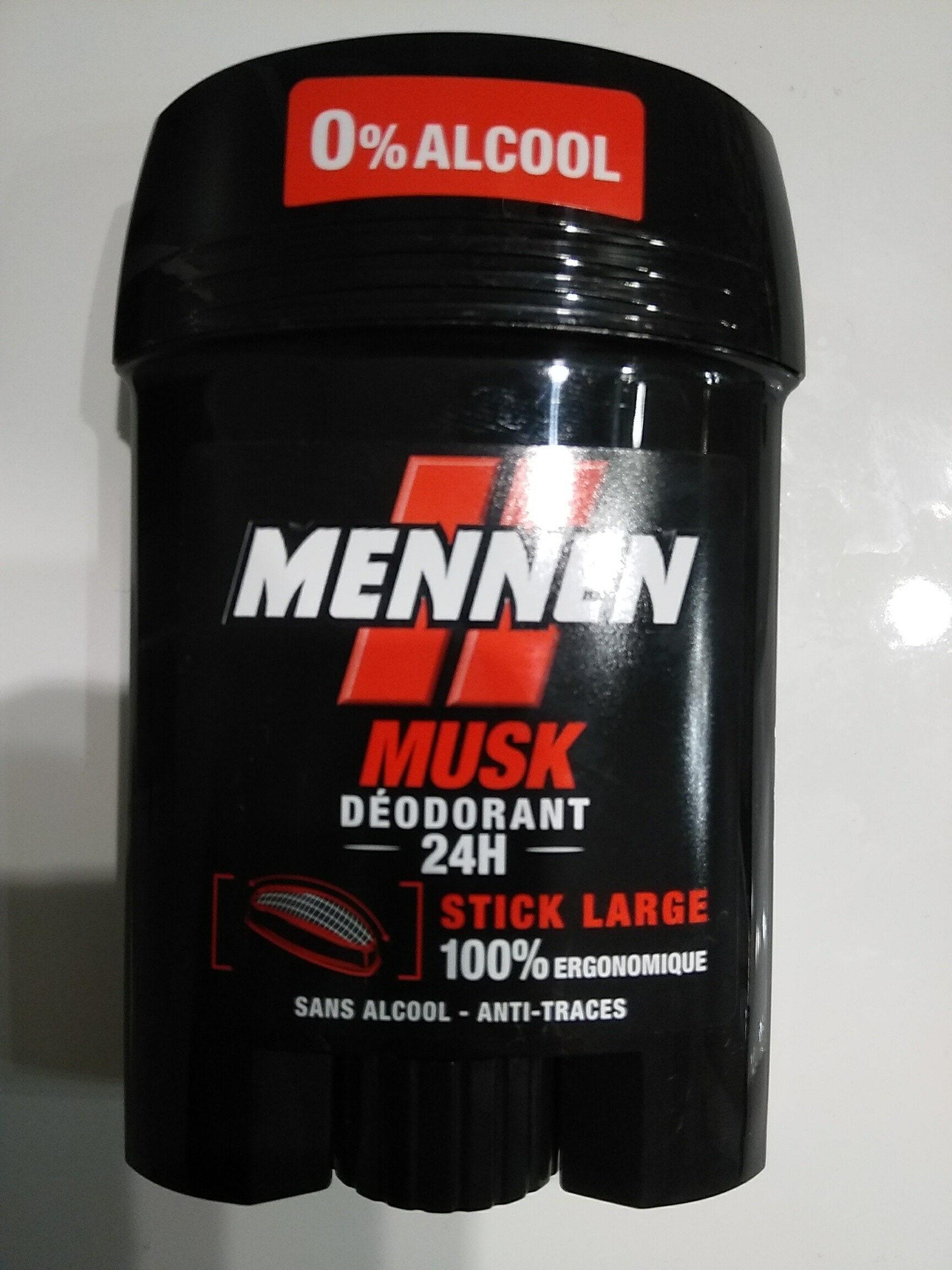 mennen musk déodorant 24h - Product - fr
