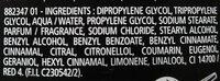 mennen musk déodorant 24h - Ingredients - fr