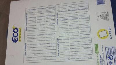 cahier de brouillon 96 pages eco+ - Product - fr