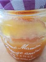 Bonne maman orange intense confiture moins sucrée - Produit - fr