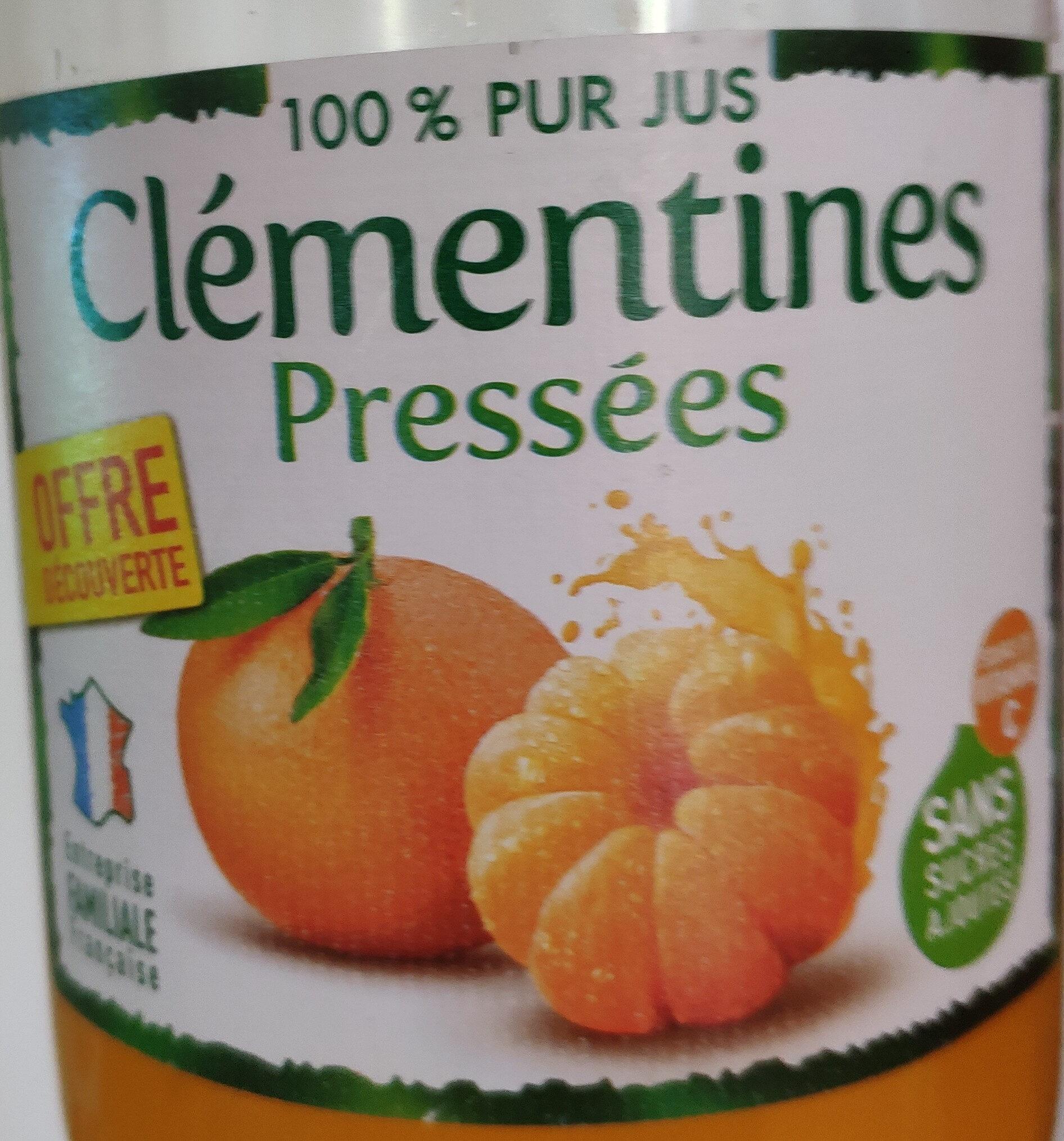 Clémentines pressées - Produit - fr