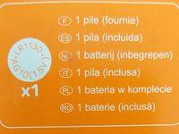 Calculatrice - Ingredients