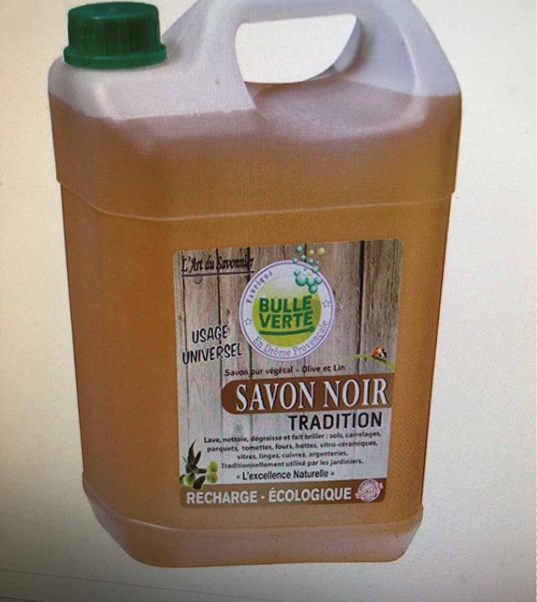 Savon noir tradition - Produit