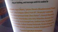 lait corps hydratant beurre de karité - Ingredients - fr