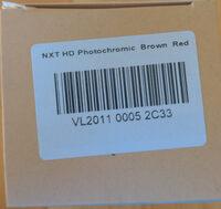 AIR 2011 180° LARGE Noir / Orange / NXT HD Photochromic Orange Flash - Product - en
