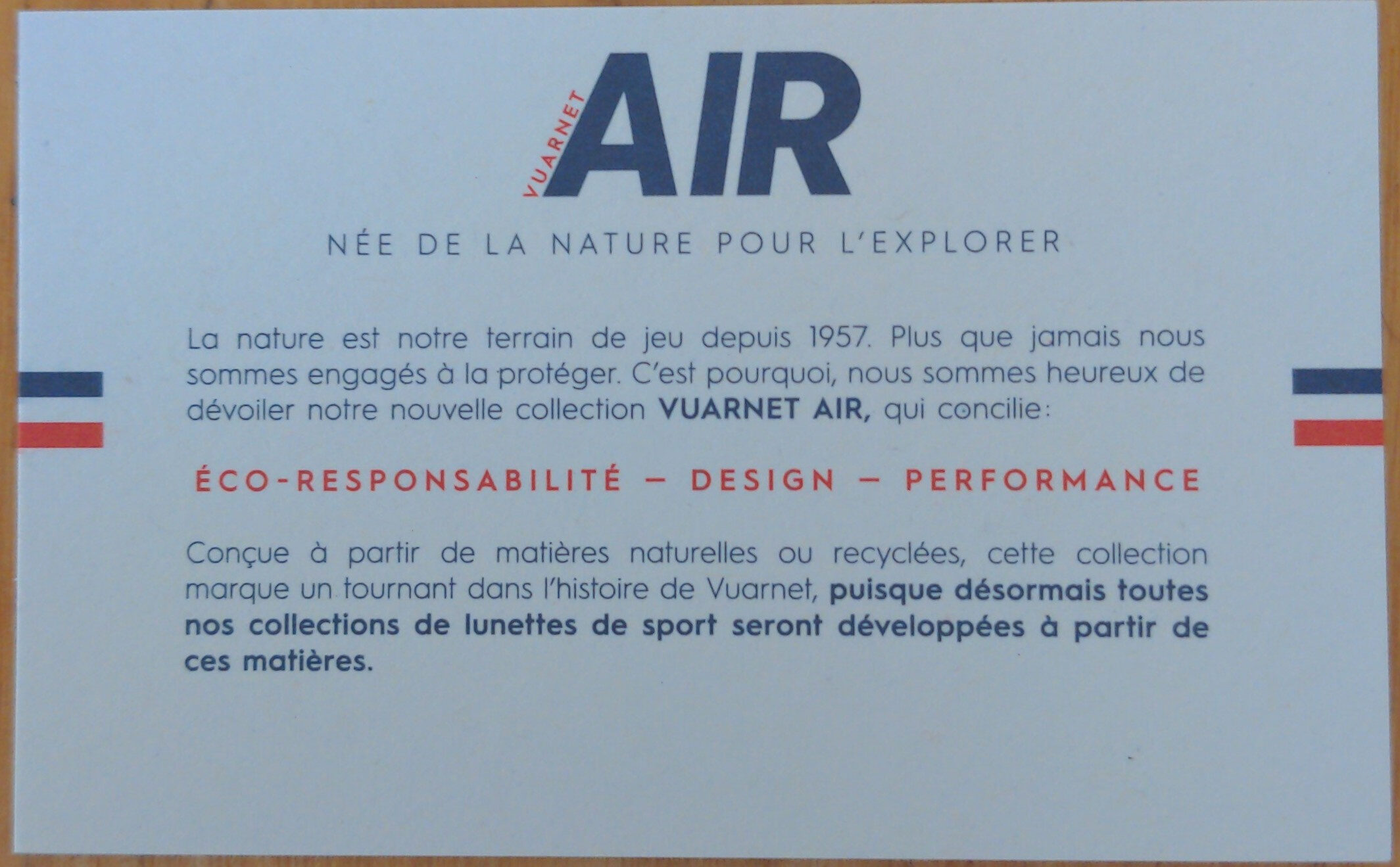 AIR 2011 180° LARGE Noir / Orange / NXT HD Photochromic Orange Flash - Ingredients - fr