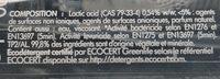 Nettoyant WC Détartrant Et Désinfectant - Ingredients