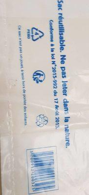 Sac plastique - Ingredients