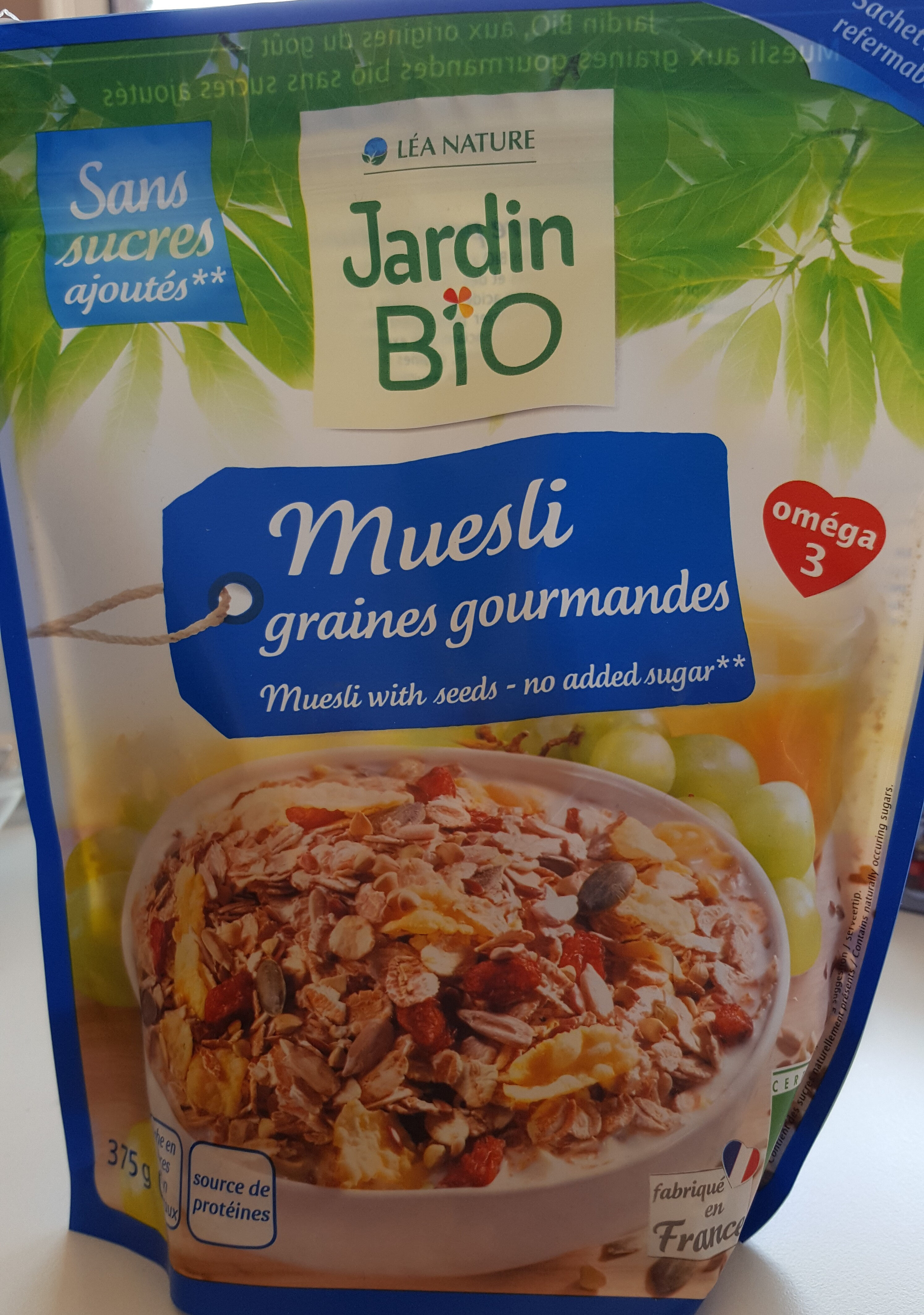 muesli graines gourmandes - Product - fr