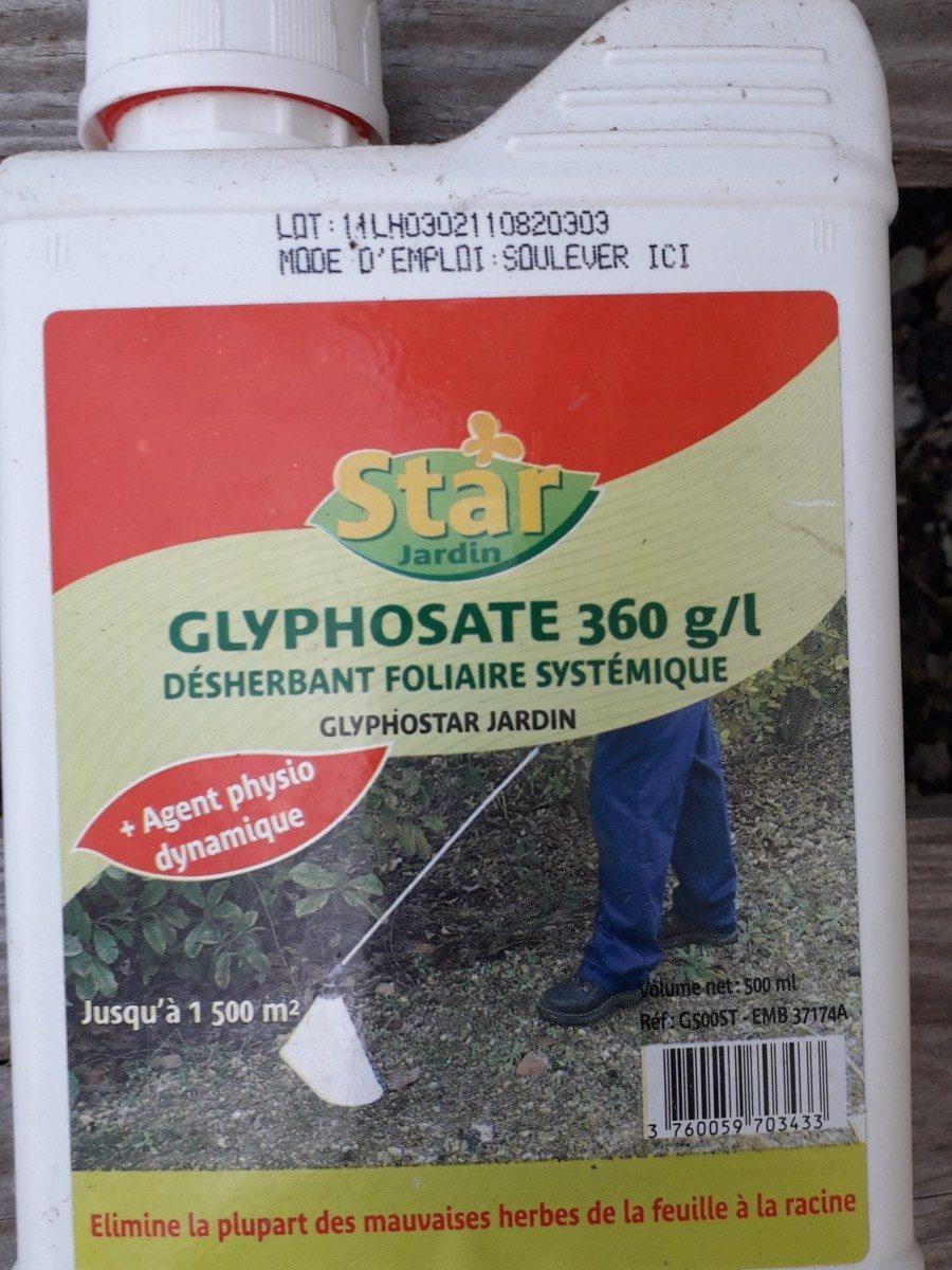 Glyphosate - Ingrédients