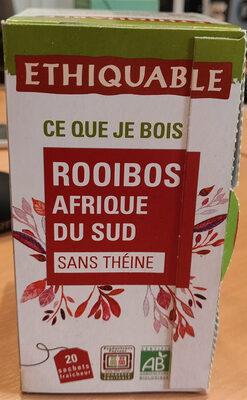 Rooibos afrique du sud sans théine - Product - fr