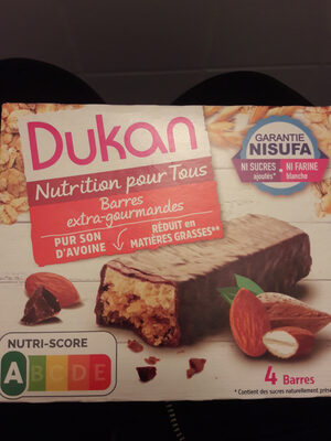 Dukan barres extra-gourmandes - Product