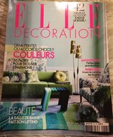 Elle Decoration, Ranska, Asumisen Lehdet - Product