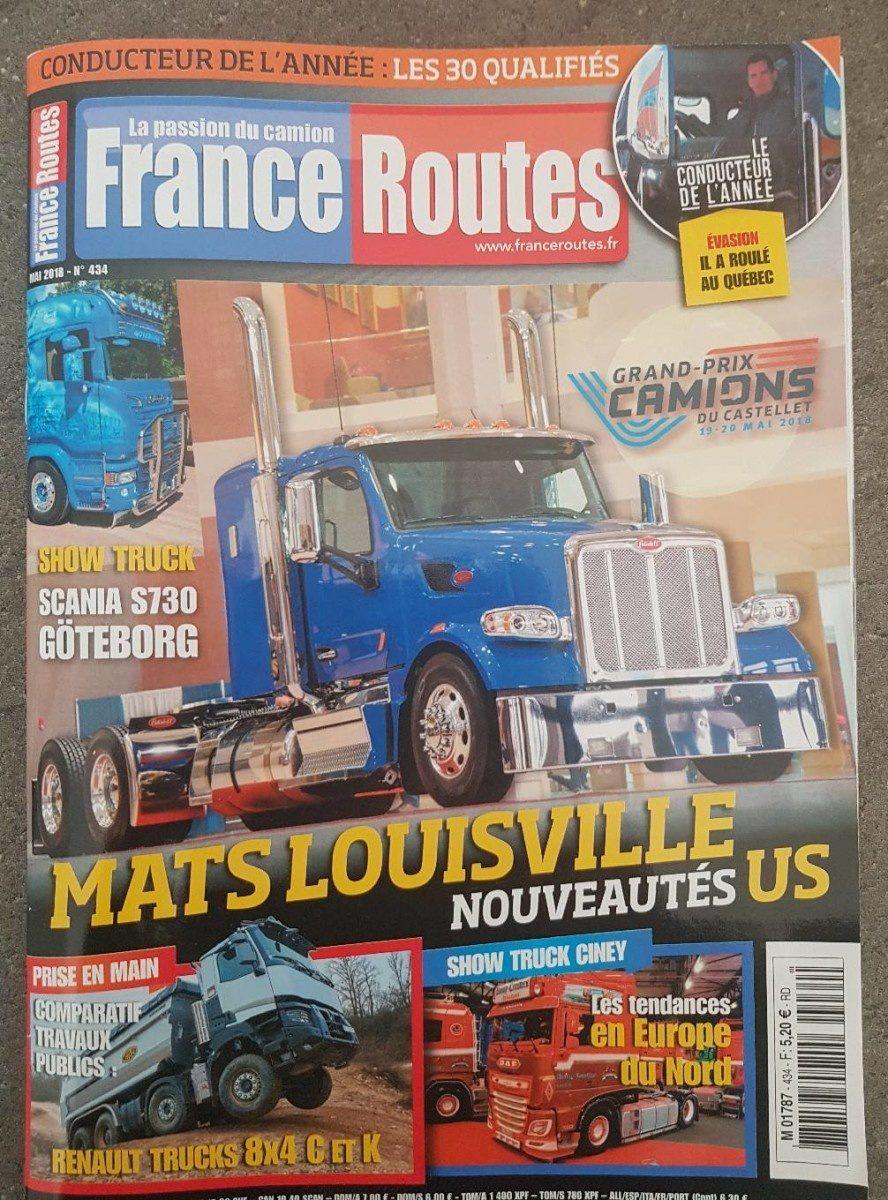 France routes - Produit