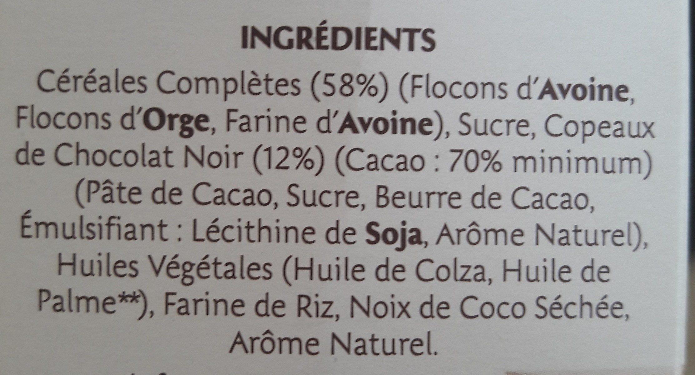 Mots fléchés - Ingredients