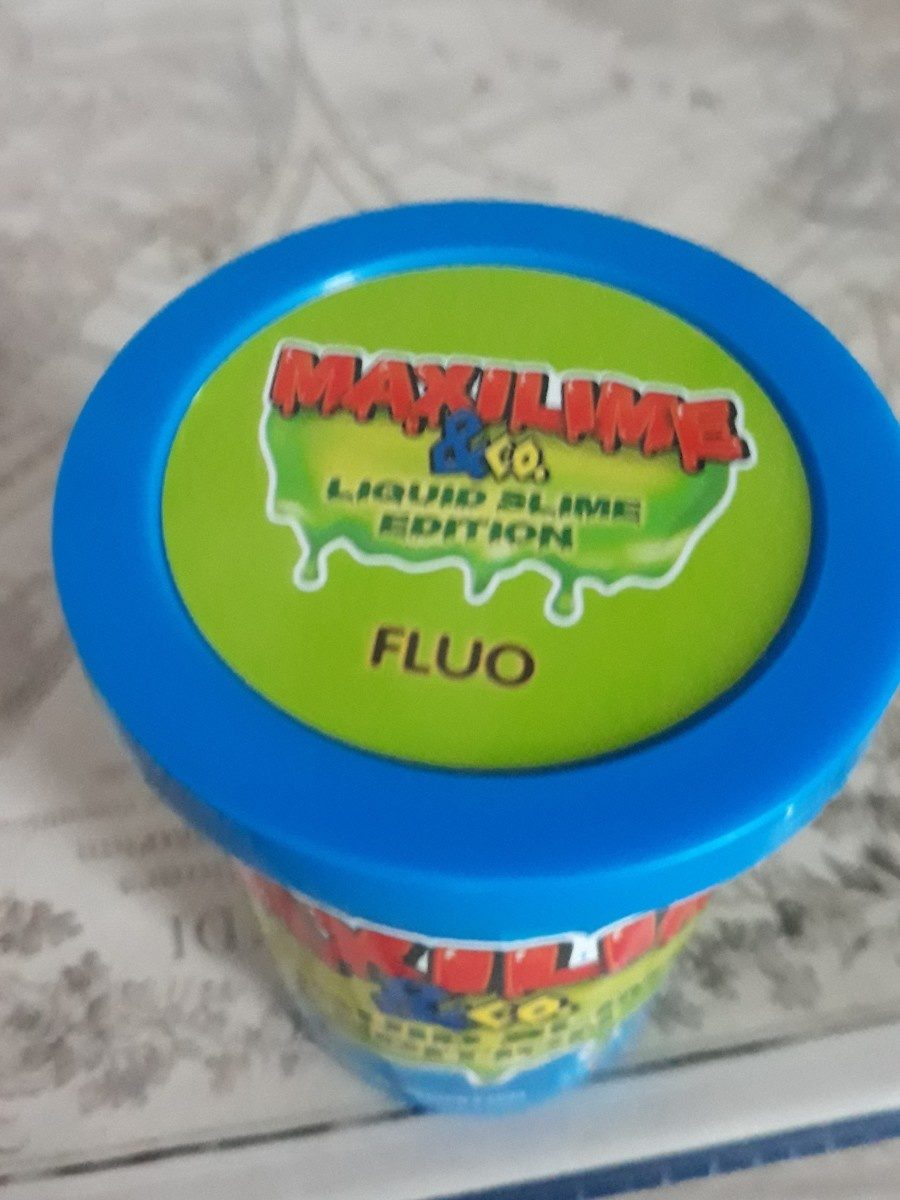 Liquid slime maxilime - Ingredients