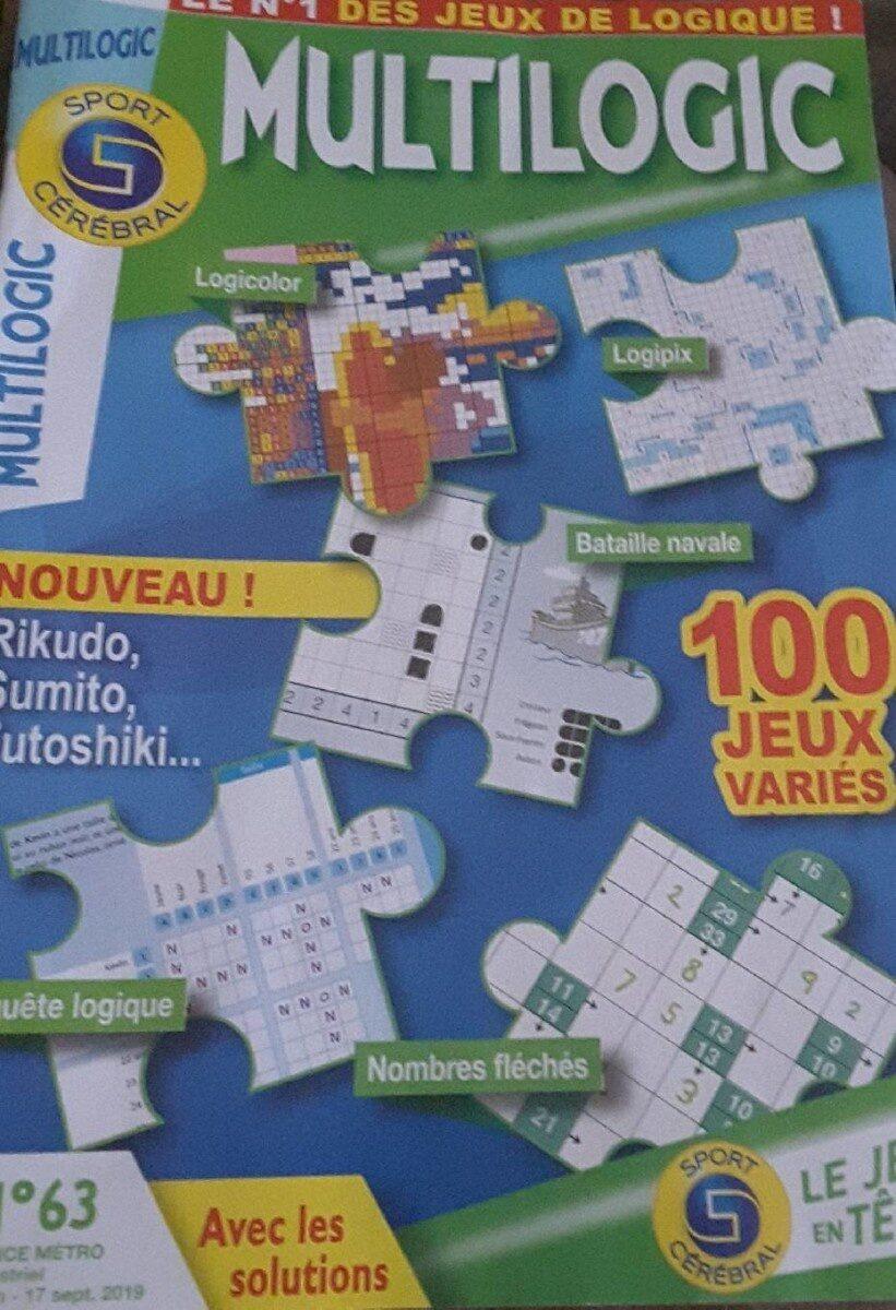 Multilogic Le numéro 1 des jeux de logique ! - Product