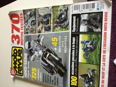 Moto revue, hors série spécial essais - Ingredients