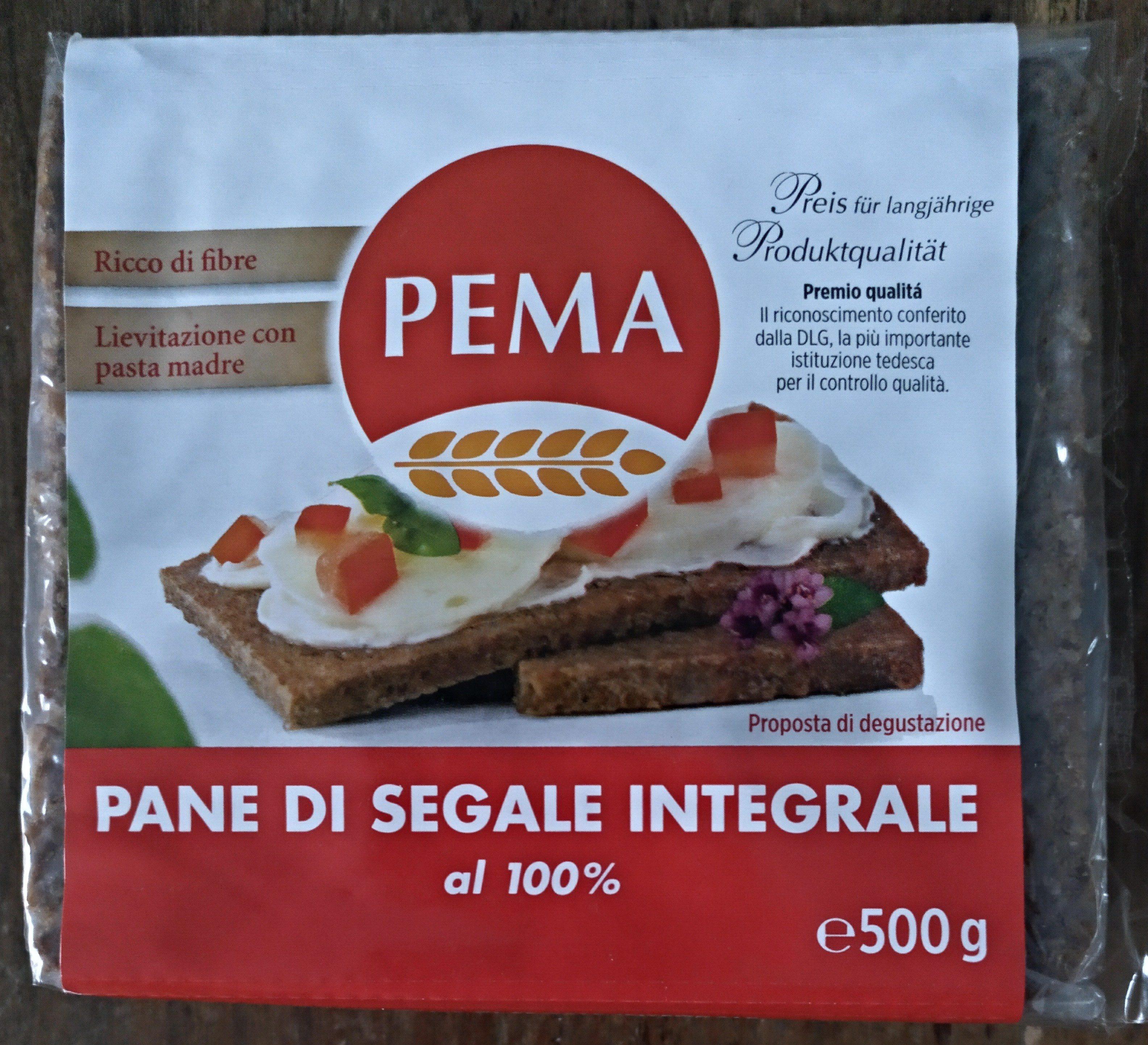 pane di segale integrale - Product - fi